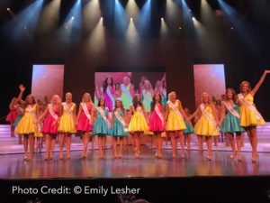 The Top 12 at the Miss Utah 2017 Scholarship Pageant. (Photo by Emily Lesher)