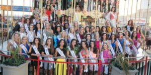 miss america contestants at steel pier NJ