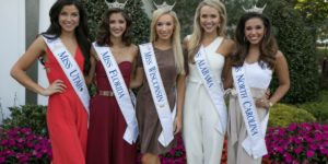 Miss America contestants