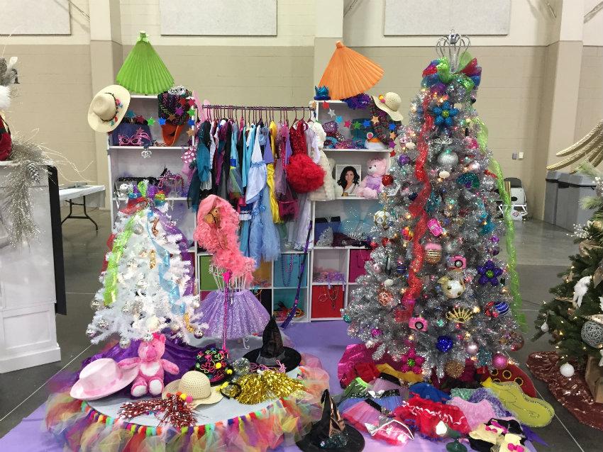 Miss Utah's Closet at Utah's Festival of Trees