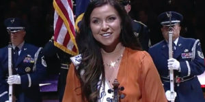 Miss Utah national anthem jazz