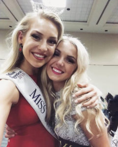 Miss Utah 2018 with Miss Utah's Outstanding Teen